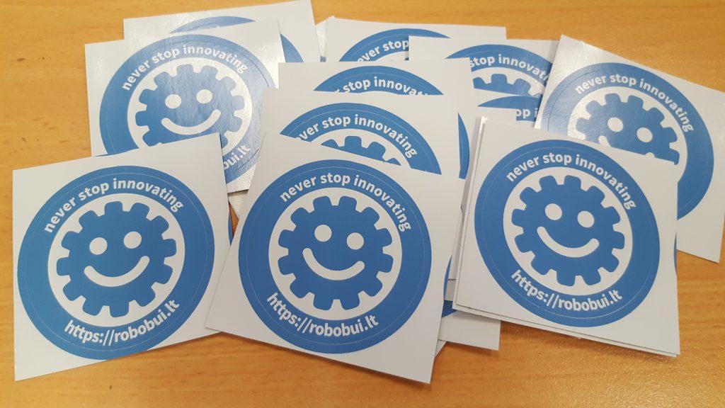 Robobuilt Stickers